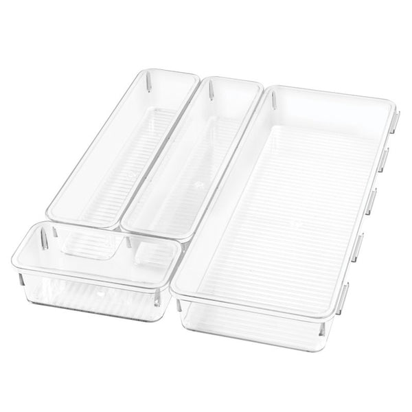 Linus Interlocking Drawer Organizers, Set of 4