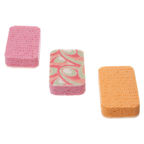 Scrubbex Printed Scrubby Sponge | Set of 3
