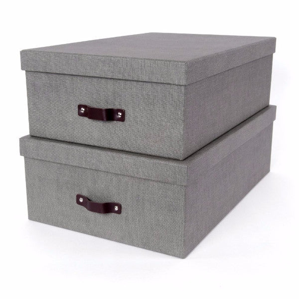 VALDEMAR Canvas Storage Box