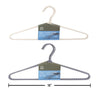 Fabric Wrapped Hanger (4 pack)