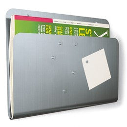 Magnetic Magazine Pocket & Memo Board