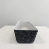 2 Tone Rectangular Felt Basket
