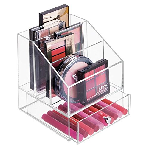 Clarity Cosmetic Palette Organizer with Drawer