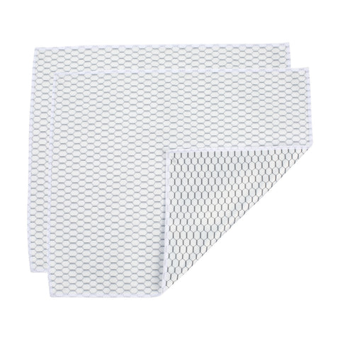 Microfiber Glass Cloth White Honeycomb