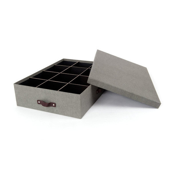 JAKOB Canvas Box With 12 Dividers