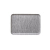 LINEN TRAY GREY WHITE STRIPE