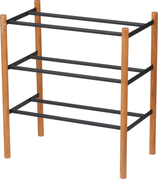 PLAIN Expandable 3 Tier Shoe Rack
