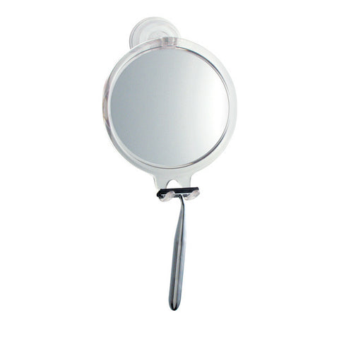 Power Lock Suction Fog-Free Round Mirror