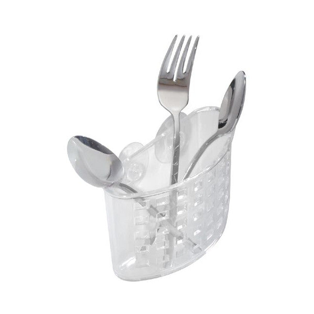 Sinkworks Suction Flatware Holder