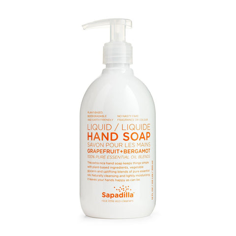 Hand Soap | Grapefruit + Bergamot