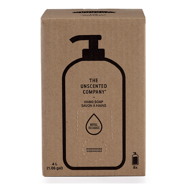 Unscented Hand Soap Refill Box