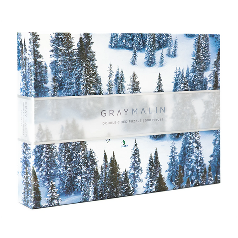 The Snow Two-Sided Gray Malin Puzzle
