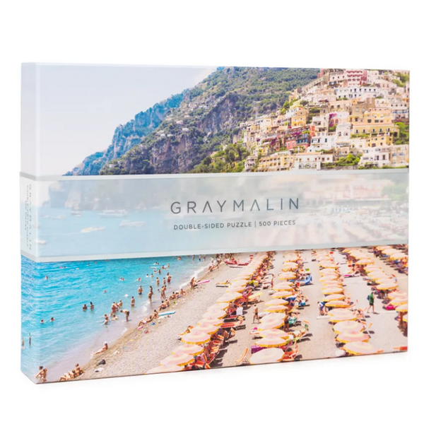 The Italy Two-Sided Gray Malin Puzzle