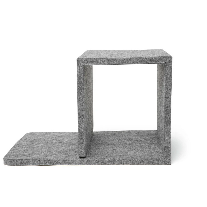 Cube Bedside Felt Table