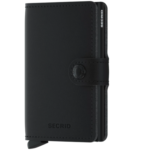 Miniwallet Vegan Soft Touch Black