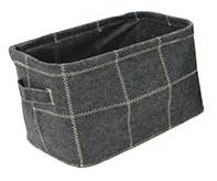 Stitch Felt Rectangular Basket