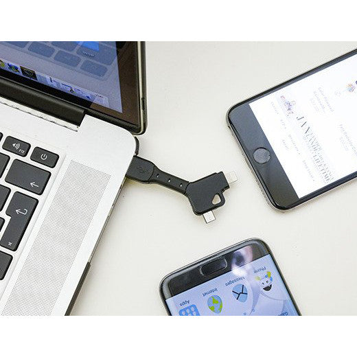 2 In 1 Keychain USB Cable