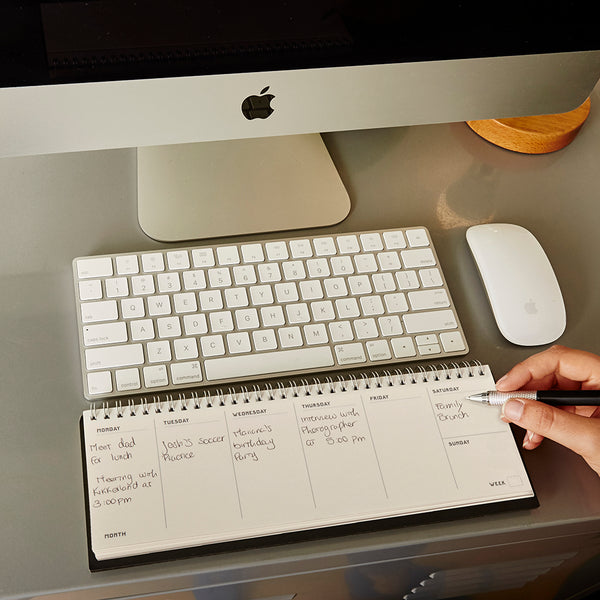 Writersblok Keyboard Calender
