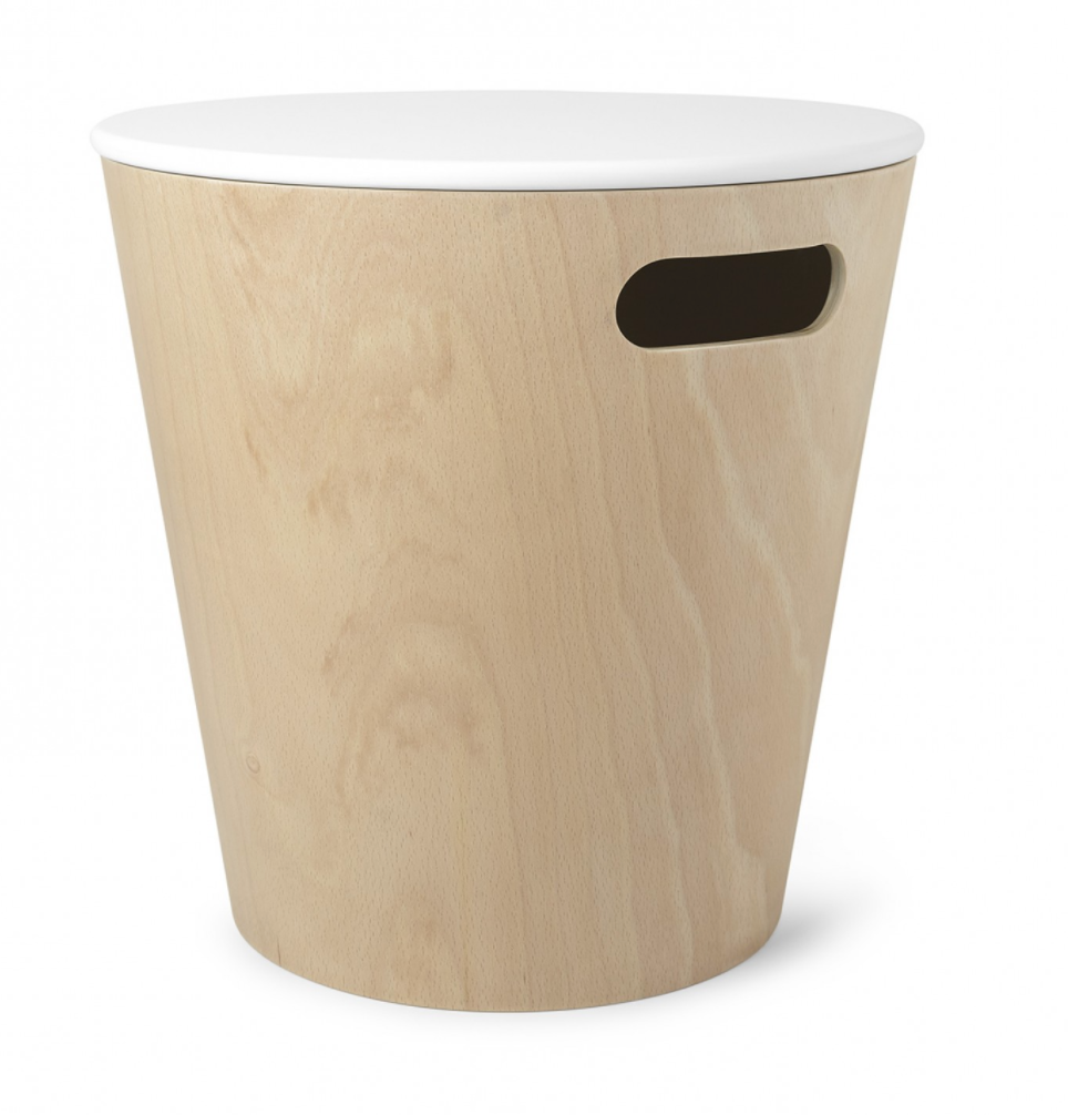 Woodrow Storage Stool