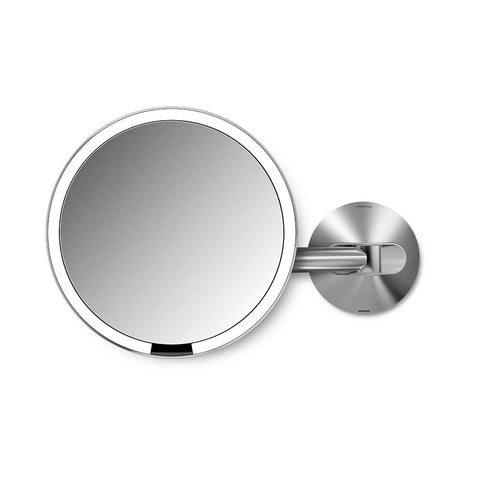 Wallmount Sensor Mirror | 5x Magnification