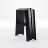 2-Step Stool Wide Black