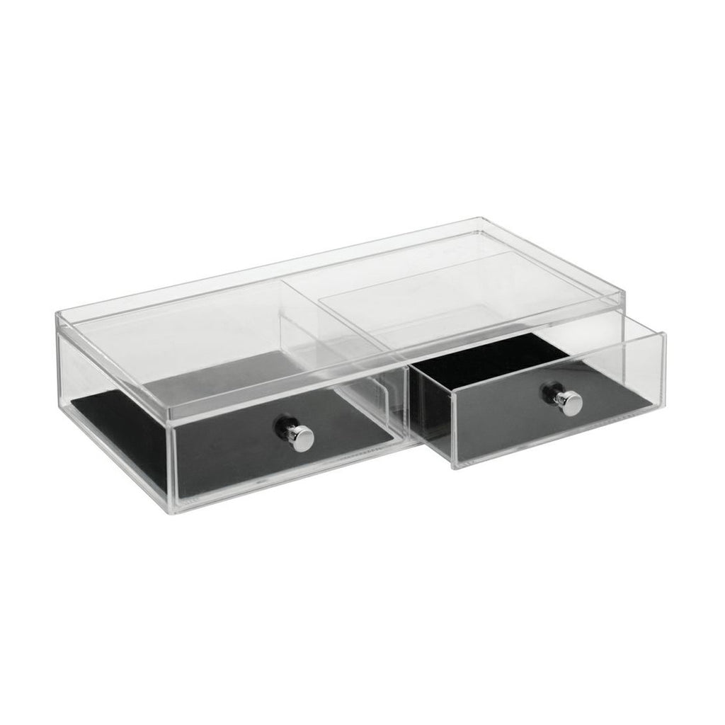 Clarity 2 Drawer Jewelry Organizer