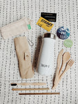 Reuseable, Eco-friendly, Plastic-free Starter Kit - Moonstone - Bumi Box