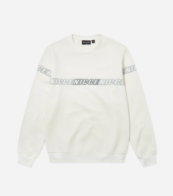 Nicce college genser Rioja Sweat off white