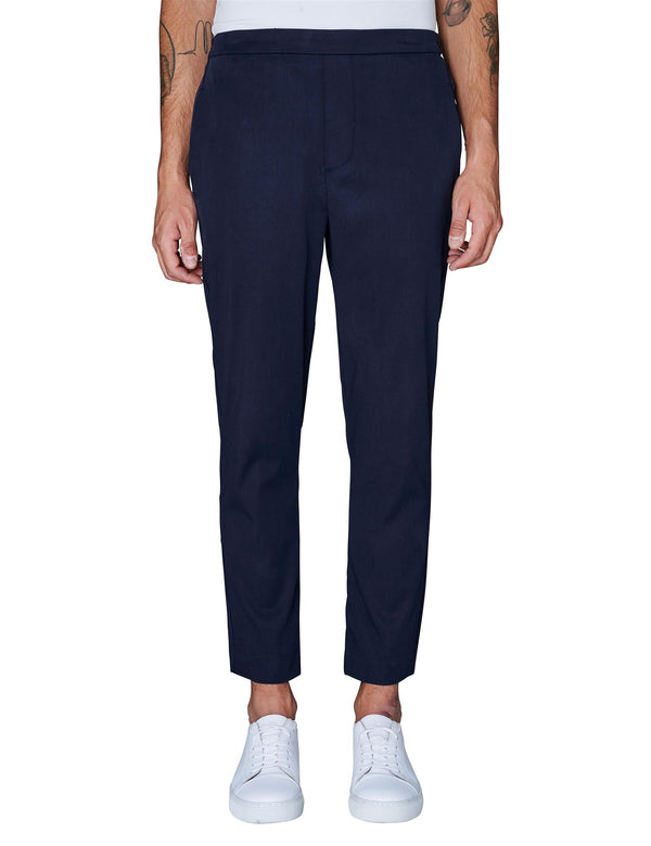 Plain Bukse Riley 688 Navy Cloud
