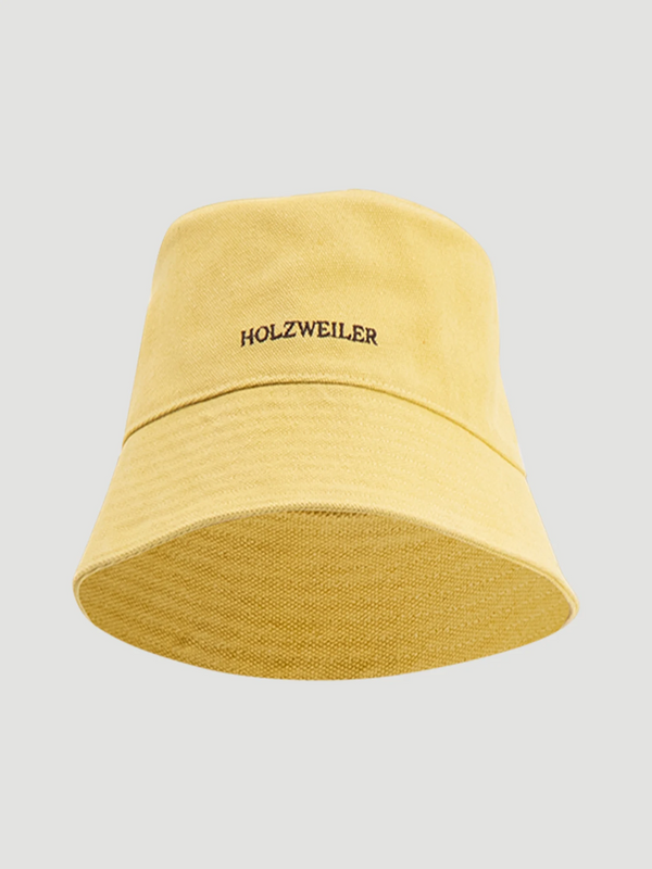Holzweiler Bøttehatt Pafe Buckethat Light Yellow