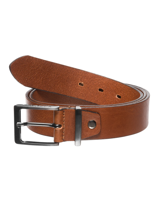 Les Deux belte Walker Leather belt brun
