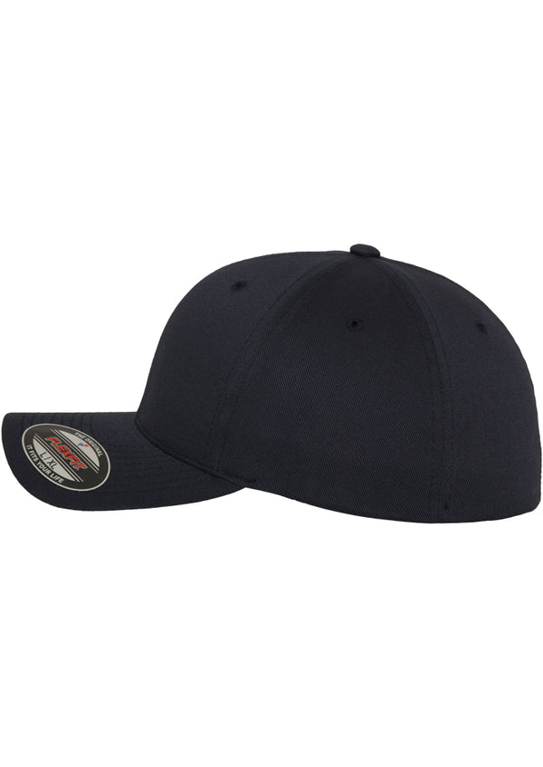 Flexfit cap Wooly Combed dark navy
