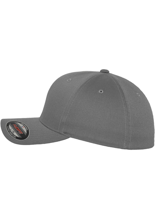 Flexfit cap Wooly Combed grey