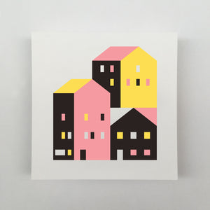 Tiny Houses #010 Giclée
