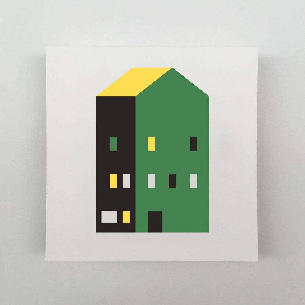 Tiny Houses #002 Giclée
