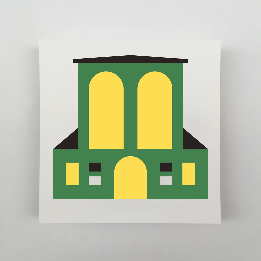 Tiny Houses #008 Giclée