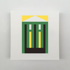 Tiny Houses #016 Giclée