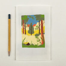 Load image into Gallery viewer, Originel print - Bird view - Sunny forest