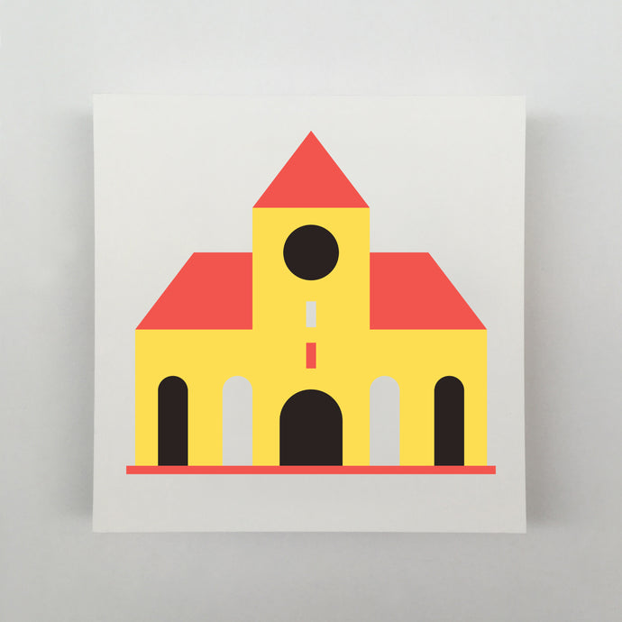 Tiny Houses #020 Giclée