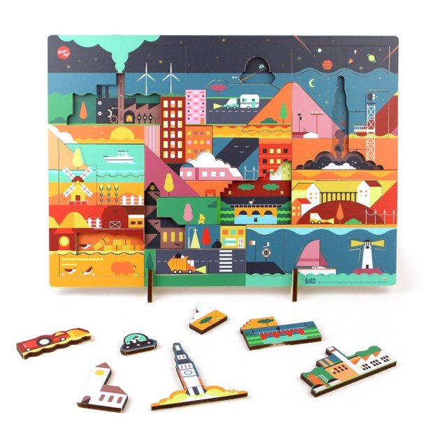 Puzzle night, pre order €39,95, available from October 2019