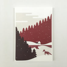 Load image into Gallery viewer, Christmas, 3 colors Christmas cards A5, envelops included