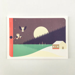 Christmas card A5, envelops included