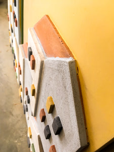 Urban city Yellow - Concrete plate