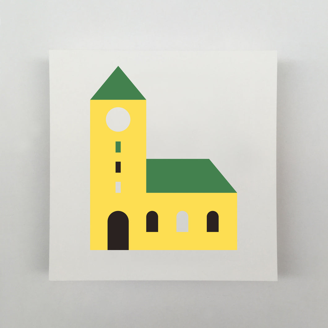Tiny Houses #001 Giclée