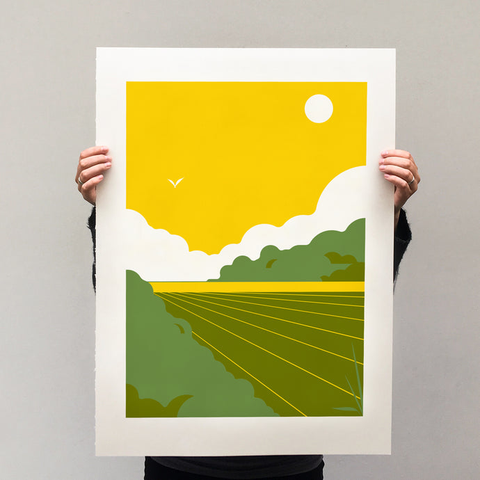 Dutch Landscapes I, print