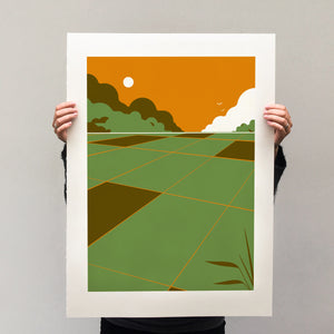 Dutch Landscapes II, print