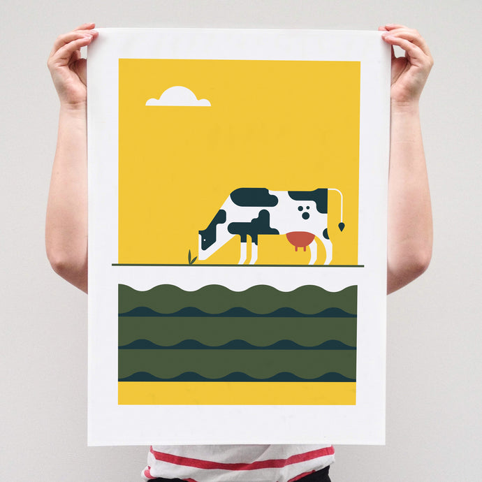 Print Dutch landscapes