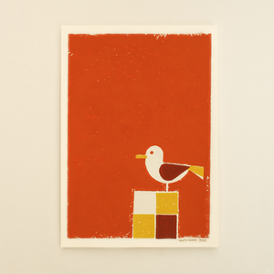 Seagull-Orange