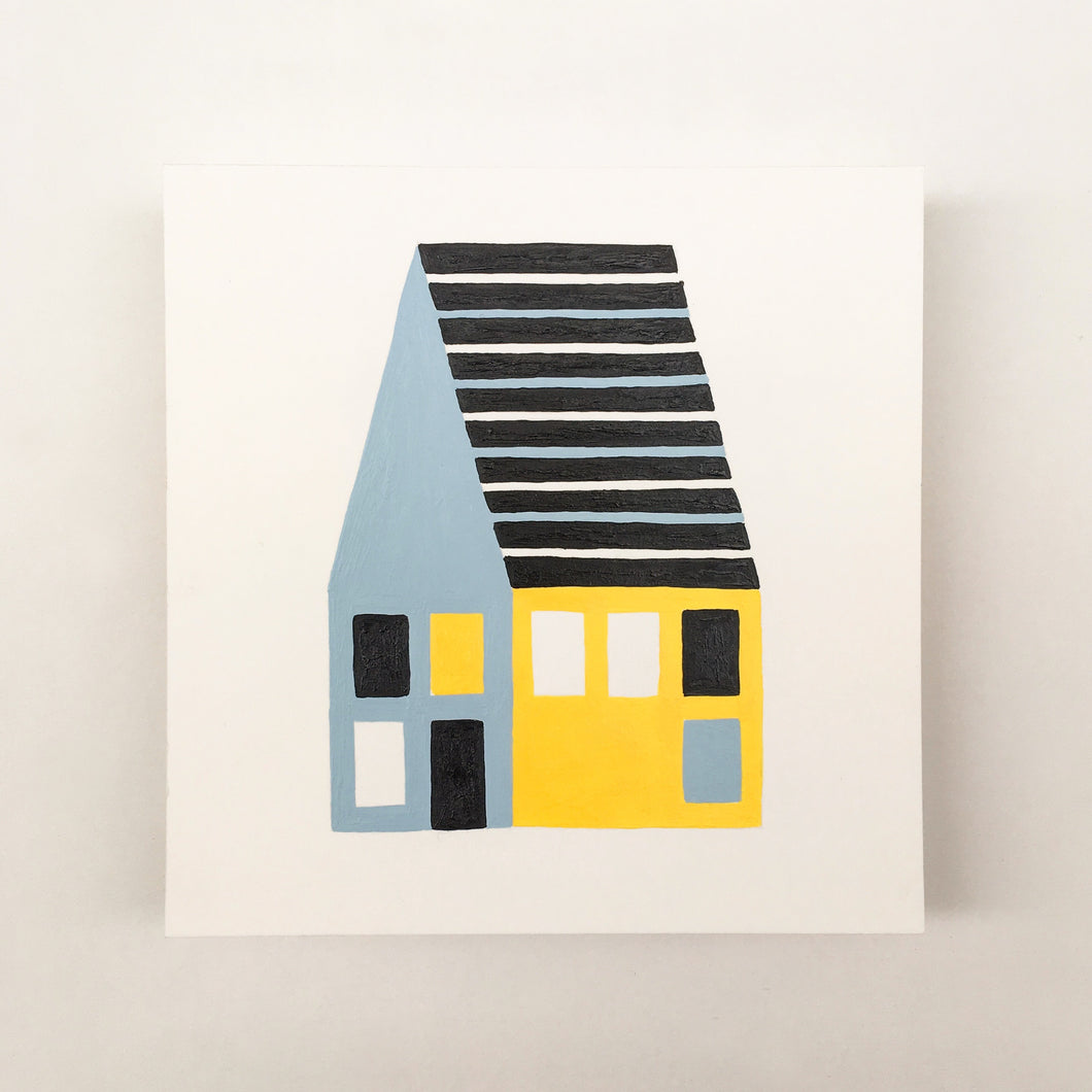 Tiny Houses #004 - Original painting