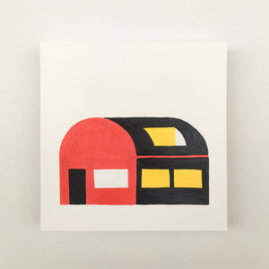 Tiny Houses #011 - Original painting